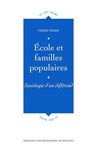 cole et familles populaires: Sociologie d'un diffrend