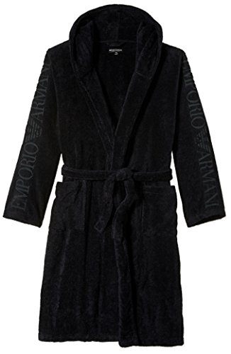 Preisvergleich Produktbild Emporio Armani EA On Sleeve Dressing Gown in Navy M