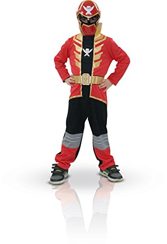 Rubies 3880372 - Red Super Mega Force Power Ranger (Small)
