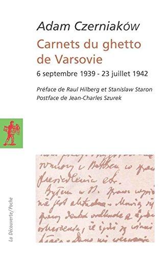 Carnets du ghetto de Varsovie
