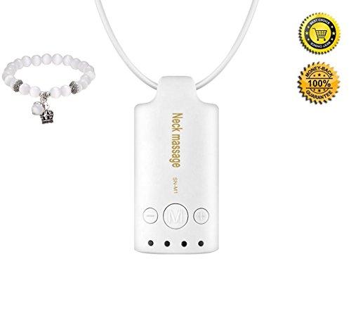 [Nuova versione] Flyhealth collo massaggio portatile ricaricabile Timing a bassa frequenza terapia Massaggiatore stimolatore muscolare impulso elettrico - Body Kit Prezzo