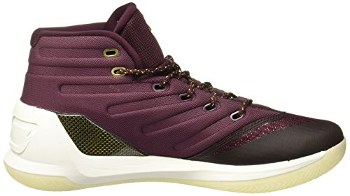 UNDER ARMOUR ua curry 3 UOMO SCARPE BASKET Bordeaux