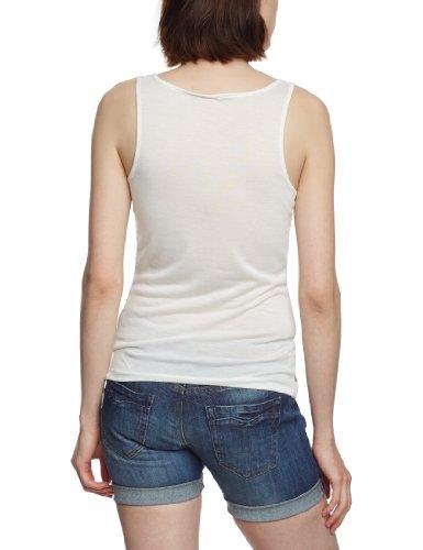 ONLY débardeur pour femme top 15079192/jRS wW sIXY bOX Blanc - Weiß (Cloud Dancer Print:FLOWER)