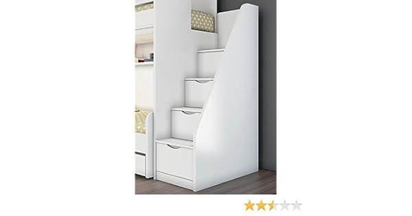 Etagenbett Schubladen Treppe : Newjoy hochbett treppe inkl schubladen fÜr hochbetten