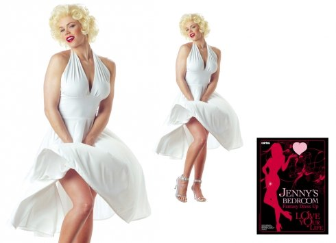 's Bedroom Fantasy Dress Up Marilyn (Marilyn Monroe Dress Up)