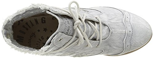 Mustang 1187502, Stivali Donna Argento (21 Silber)