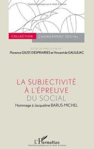 la-subjectivit--l-39-preuve-du-social-hommage--jacqueline-barus-michel