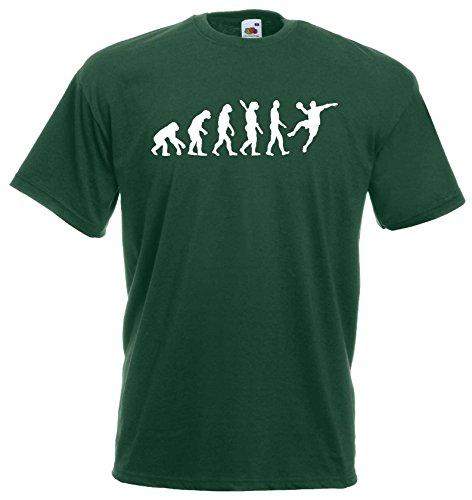 Handball Herren Evolution T-Shirt WM Sport Shirtdunkelgrün-XXL