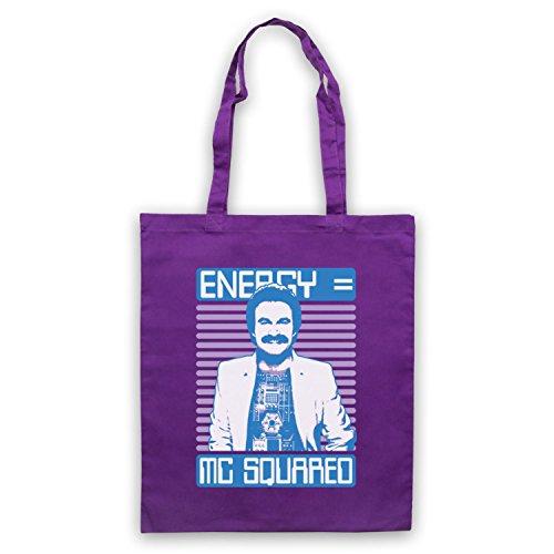 Inspiriert durch Giorgio Moroder Energy MC Squared Inoffiziell Umhangetaschen Violett