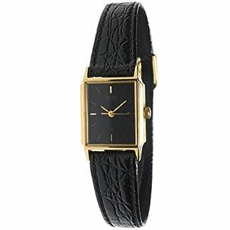 Citizen Ey-0092-black Reloj Analogico para Mujer Caja De Acero Inoxidable Esfera Color Negro