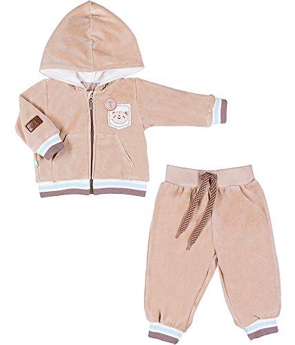 Be Mammy Kinder Baby Jogginganzug BEEK0004 (Beige, 86)