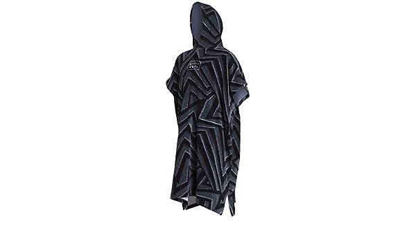 Billabong 2018//19 Hooded Poncho Black Print L4BR11