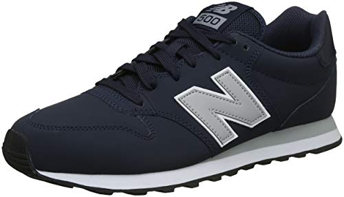 New Balance 500, Zapatillas para Hombre, Azul Navy, 45.5 EU
