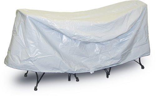 Housses de Protection pour Table et chaises de Patio - Résistantes aux intempéries - 76,2 x 91,4 cm - Gris