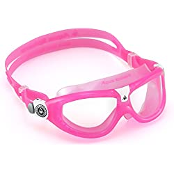 Aqua Sphere Seal 2 Regular, Gafas de natación para Niños, Rosa (Pink/Clear Lens)