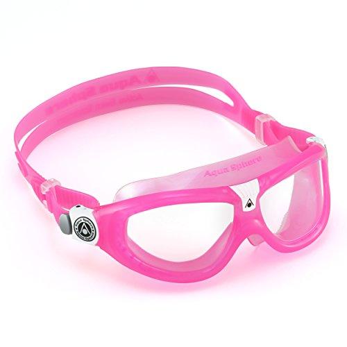 Aqua Sphere Seal Schwimmbrille Mädchen, Mädchen, Seal, Rosa (Pink), Jnr
