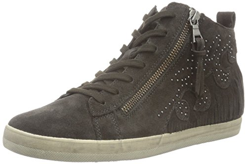 Gabor Shoes 56.425 Damen Kurzschaft Stiefel Grau (dark-grey (Micro) 49)