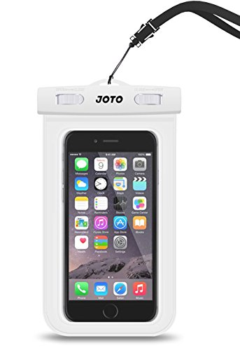 Universal wasserdichtes Gehäuse, JOTO Mobiltelefon Wasserdichtes Gehäuse Trockenes Beuteltasche für Apple iPhone 6S 6,6S Plus, SE 5S 5 7, Samsung Galaxy S7 S6, Note 5 4, HTC LG Sony Nokia - S5 Case Box Andere