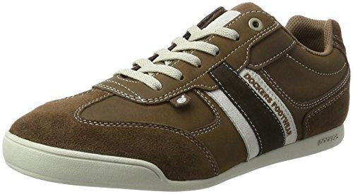 Dockers by Gerli Herren 28pe901-204 Sneaker, Braun (Braun/REH), 42 EU