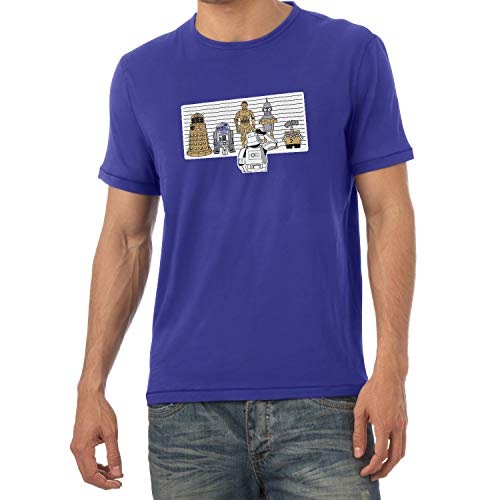 Texlab Usual Robots - Herren T-Shirt, Größe M, -