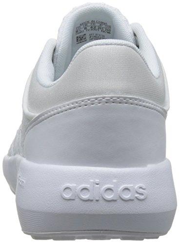 adidas Herren Cloudfoam Race Turnschuhe Bianco ( Ftwbla/Ftwbla/Onicla)