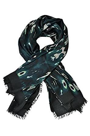 e2cced0b011a Image indisponible. Image non disponible pour la couleur   Tom Ford Écharpe  Homme Vert Multicolore Cachemire 124 cm x ...