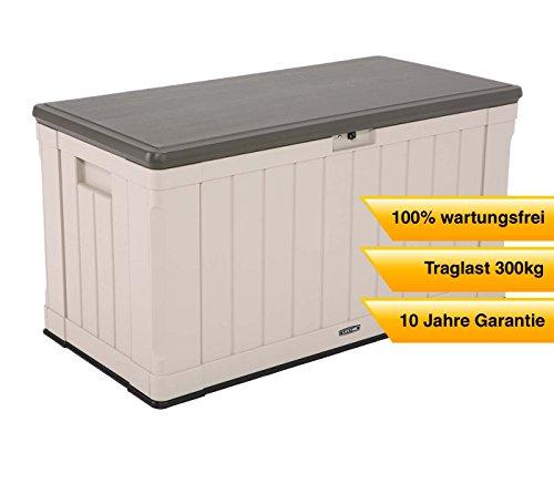 lifetime kunststoff kissenbox auflagenbox gartentruhe universalbox harmony 440l volumen. Black Bedroom Furniture Sets. Home Design Ideas