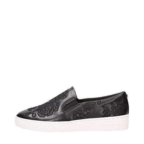 Michael Kors Keaton Slip On Black Embroidered-39