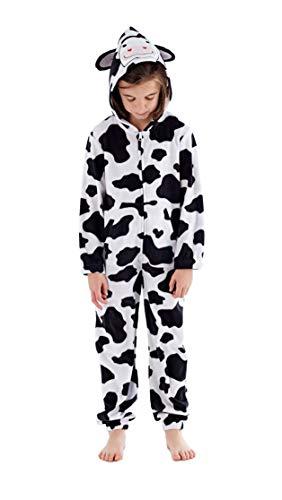 f3dee30698 Hari Deals - Pijama Pieza - niña Vaca 7-8 Años