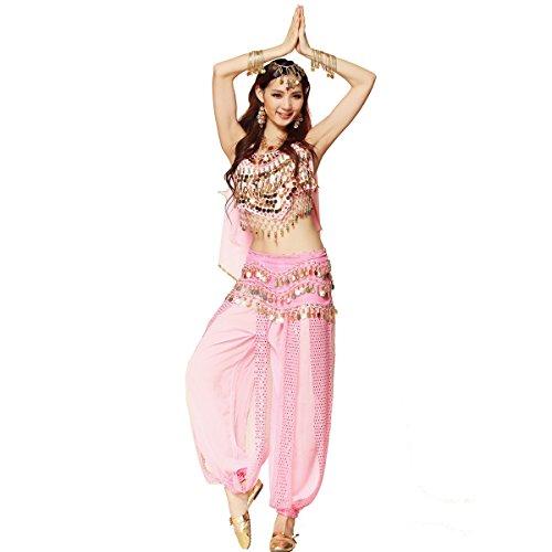 Bauchtanz-Kostüm für Damen von Best Dance, bestehend aus -