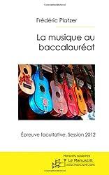 La Musique au baccalauréat-session 2012