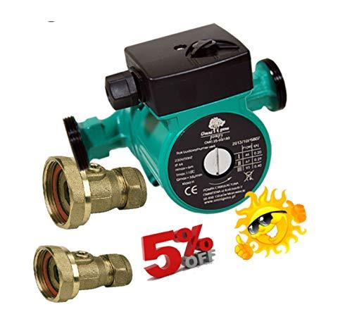 Zentralheizung Umwälzpumpe OMIS - für Heizungsanlage Unterbodenheizung Pumpe Ventile 28 mm -