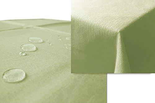 JEMIDI-Gartentischdecke-Lotus-Effekt-Leinenoptik-Tischdecke-Decke-Leinen-Fleckschutz-XL