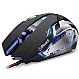 Offbeat RIPJAW Wired Gaming Mouse - 7D Buttons, DPI : 1600,2400,3200, Mice for PC Laptop (Wired)