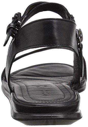 ECCO Touch Sandal, Scarpe Col Tacco con Cinturino a T Donna Nero(Black/Black 51052)