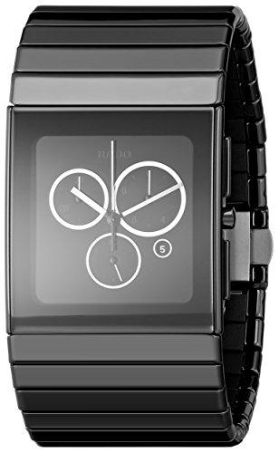 Rado R21714152 - Reloj para hombres, correa de cerámica color negro