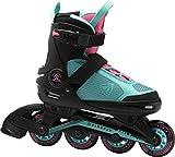Firefly Unisex-Kinder Ils 510 G Skateboardschuhe, Schwarz (Black/Turquoise/Pink 900), 29 EU
