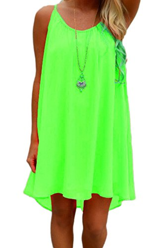 Casual Hollow Beach sottoveste Yacun femminile Green