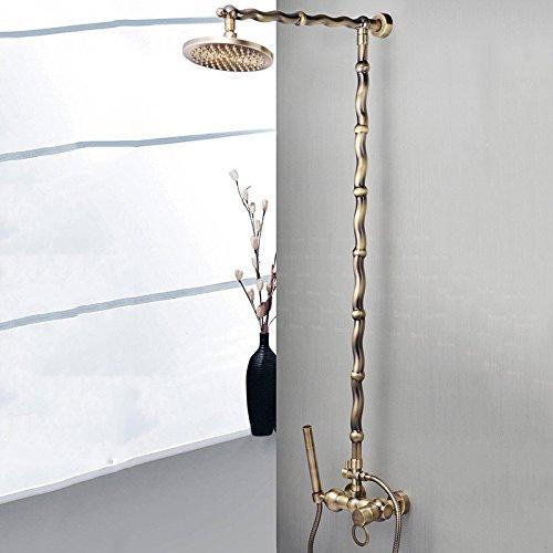 douche robinet le contrôle de la température pleine haut de cuivre spray multi - fonction water saving home bath douche douche ensemble