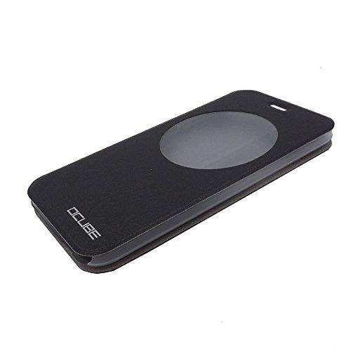 """Umi Iron Pro, T R & a portafoglio in pelle sintetica per Smartphone 13,97 cm (5,5"""") Umi Iron Pro, con custodia di trasporto, colore: nero"""