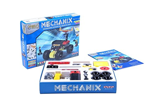 Mechanix Robotix Series 0 - Engineering System For Creative Kids  available at amazon for Rs.800