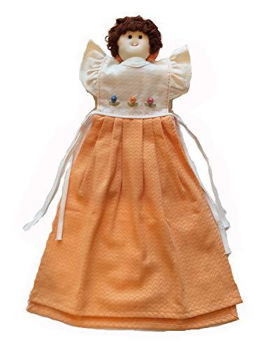 Kampoojoo Handtuch mit Puppendekoration, Baumwolle, 35,5 x 53,3 cm, für Badezimmer, Küche, etc. (Für Küche Puppen Generation Unsere)
