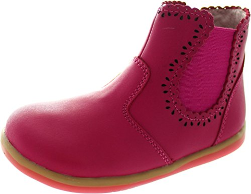 Bobux I-Walk Lucky Lacey, Bottes pour Fille - Rose - Rose,