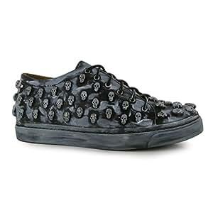 Jeffrey Campbell, Sneaker Donna Black/Pewter