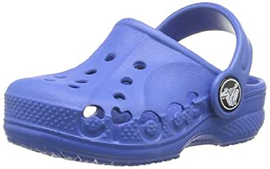 Crocs Baya, Unisex Kids' Clogs - Blue (Sea Blue), 1 UK