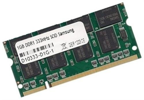 Samsung original 1 GB 200 pin SO-DIMM DDR-333 PC-2700 64Mx8x16 double side (M470L2923DV0-CB3) SODIMM -