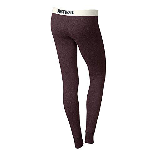 Nike Pantalon de jogging pour femme Coupe étroite Rouge - Burgunder Rot