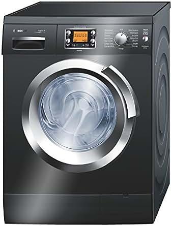 Bosch WAS287B2FF Autonome Charge avant 8kg 1400tr/min Noir machine à laver - machines à laver (Autonome, Charge avant, Noir, LCD, 165°, 1,75 m)