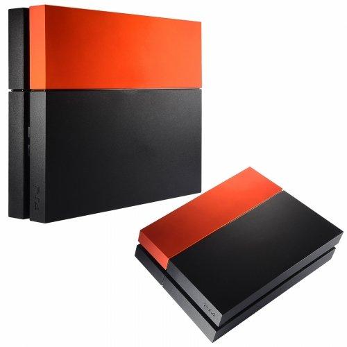 Preisvergleich Produktbild SAR-Market - Playstation 4 Festplattenabdeckung HDD Cover Soft Touch (orange)