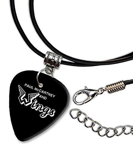 Paul McCartney Design 1 Gitarre Plectrum Cord Halskette Necklace BWEG